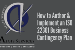 How To Author Implement An ISO 22301 Business Contingency Plan 300x200